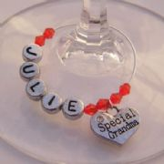 Special Grandma Personalised Wine Glass Charm